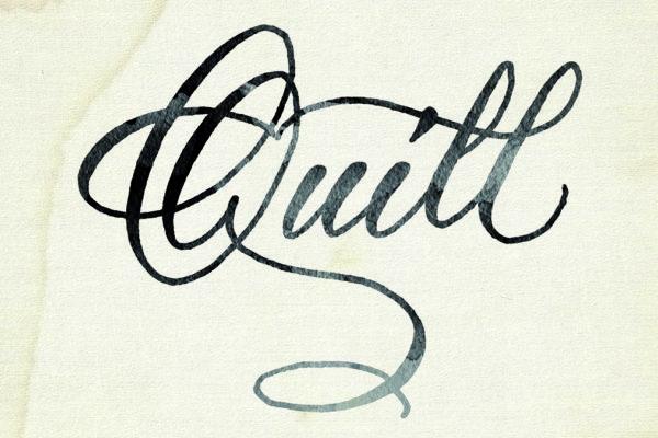 quill kalligraphie logo