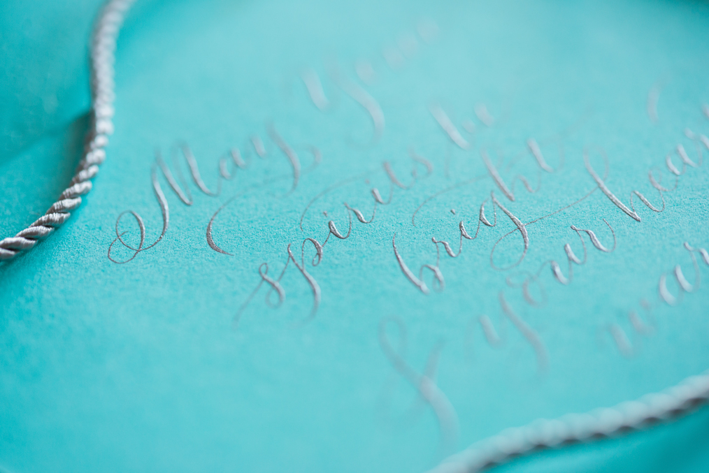 event kalligraphie tiffany