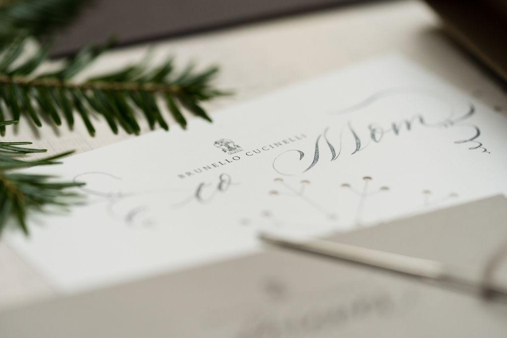 brunello cucinello calligraphy