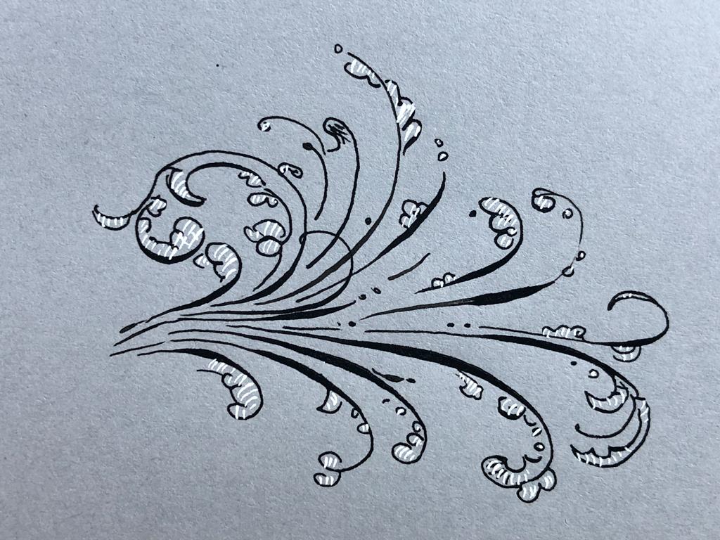 tintenfuchs papiertest grey book hahnemühle