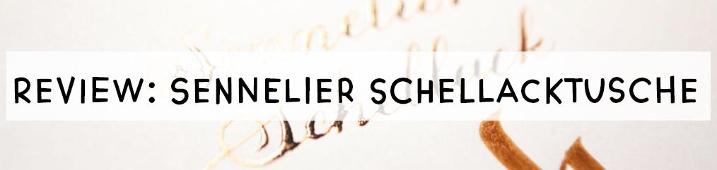 Sennellier Schellacktusche