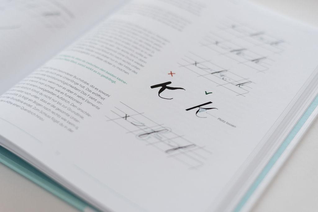 moderne kalligraphie von a bis z