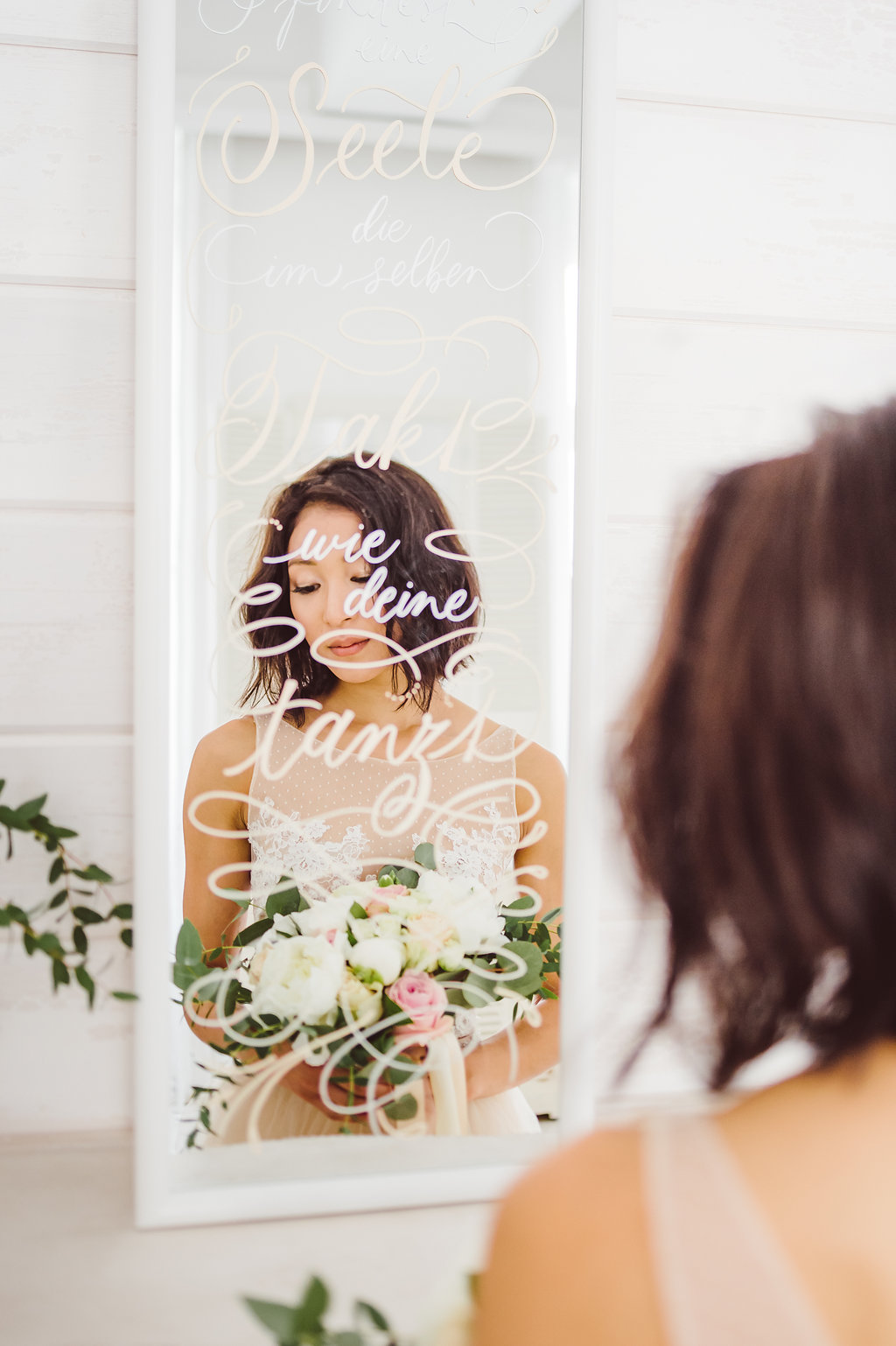 ballerina bride kalligraphie