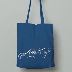 allons-y doctor who tasche