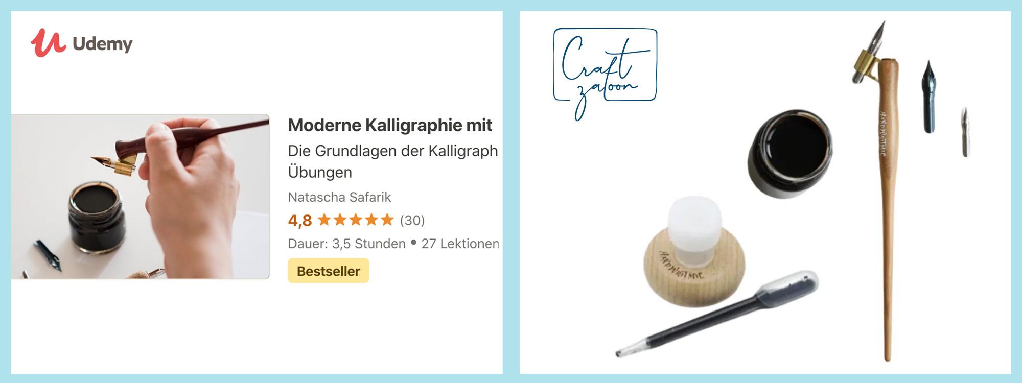 moderne kalligraphie online